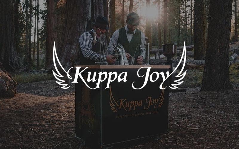 Butler Branding Kuppa Joy Brand Identity