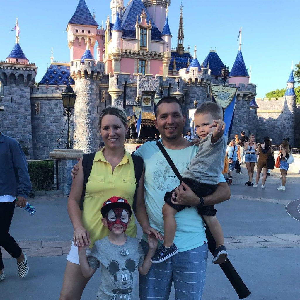 Zaragoza Family Disney Vacation