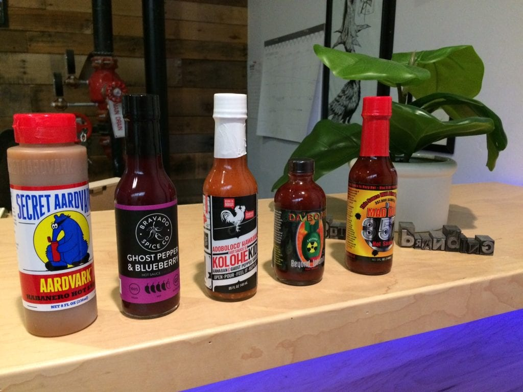 Butler Branding Spicy Bois Hot Sauces